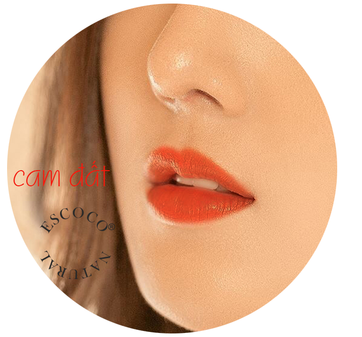 Son Coco+ Luxury Matte lipstick màu cam đất